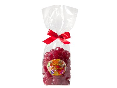 Confectioner packet Raspberry soft centre 200g