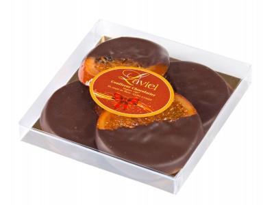 TRANCHES ORANGES CONFITES CHOCOLAT