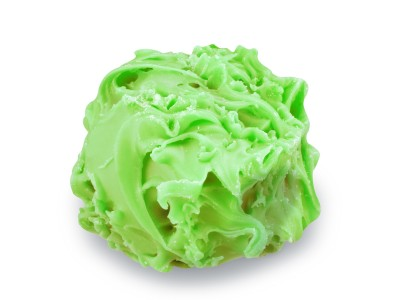 Chardon vert poire