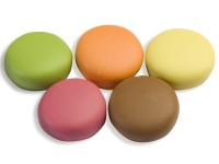 Macarons confiseries assortiment 5 parfums