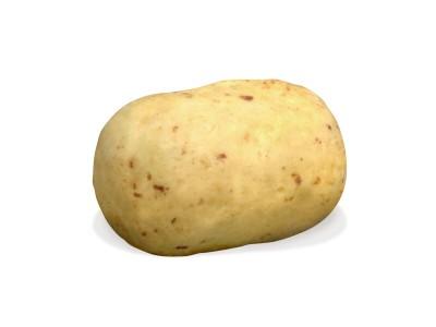 Pommes de terre nouvelles Charlotte chocolat