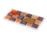 Pâte de fruits traditions pure pulpe du fruit boite crystel n°1
