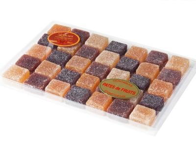 Pâte de fruits traditions pure pulpe du fruit boite crystel n°3